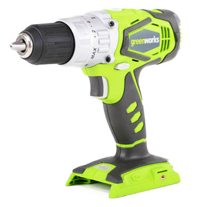 GreenWorks 3700502A 24-Volt 1/2-Inch 2-Speed Cordless Hammer Drill - Bare Tool