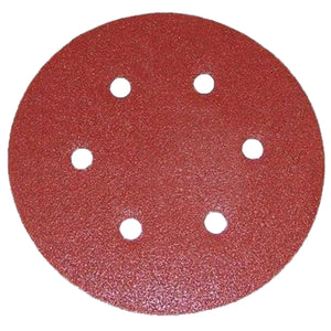 Porter-Cable 736600625 6'' Abrasive Discs: 6-Hole Hook & Loop