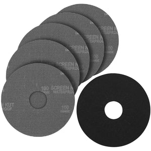Porter-Cable 79120-5 120 Grit Hook and Loop Drywall Sander Pad and Discs 5-Pack