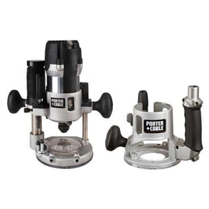 Porter-Cable 894PK 2-1/4 Hp 12-Amp Variable-Base Router and Plunge Base Kit