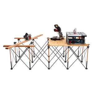 Bora CK15S 4 Foot x 8 Foot X-Cup Quick Clamp Centipede Work Support Workbench