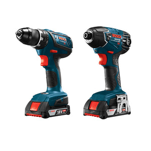 Bosch CLPK496A-181 18V 4 Tool Cordless Compact Combo Kit - Reconditioned