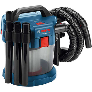 Bosch GAS18V-3N 18V 2.6 Gallon Wet/Dry Vacuum w/ HEPA Filter - Bare Tool