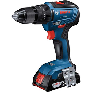 Bosch GSB18V-490B12 18V Brushless Hammer Drill/Driver Kit w/ SlimPack Battery