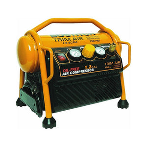 Bostitch CAP1512-OF 2.0Hp 12amp 1.2 Gallon Oil-Free High-Output Trim Compressor