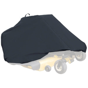 Classic Accessories 52-150-040401-00 Black Durable Zero Turn Mower Cover - Large