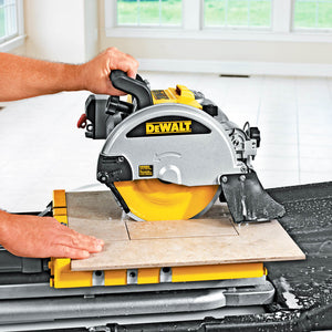 "DeWALT D24000 10"" Wet Tile Stone Slate Cutter Cutting Saw - 24"" Cut Capacity"