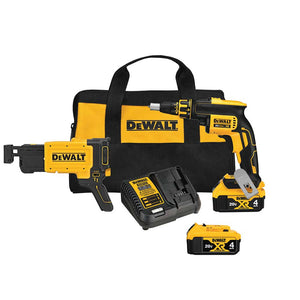 DeWALT DCF620CM2 20V MAX Drywall Screw-Gun Kit w/ Drywall Screwgun Attachment