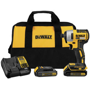 "DeWALT DCF787C2 20V MAX 1/4"" Variable Speed Brushless Impact Driver Kit"
