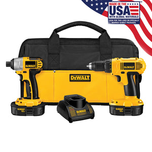 DEWALT 18V Compact Drill and Impact Driver Kit DCK235CR Reconditioned DCK235C