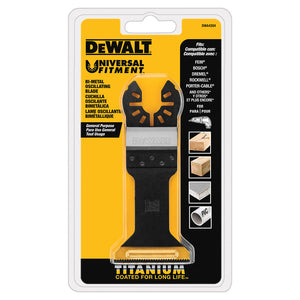 DeWALT Wide Titanium Oscillating Wood w/ Nails Blade - DWA4204