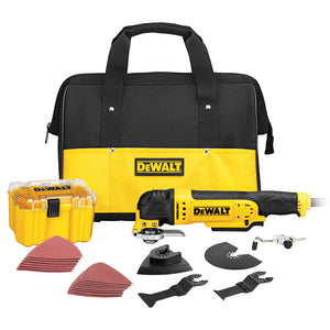 DeWALT Oscillating Multi-Tool Saw 3.0 Amp 29 Piece Kit - DWE315K