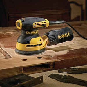 "DeWALT DWE6423 3 Amp  5"" Corded Compact Variable Speed Random Orbit Sander"