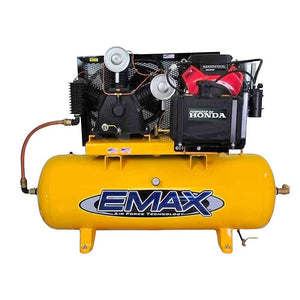 EMAX EGES1330V4 13 HP 30 Gallon Truck Mount Stationary Gasoline Air Compressor