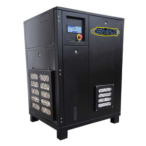EMAX ERI0070003 230/460V 7.5 HP 3 PH Industrial Tankless Rotary Screw Compressor