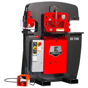 Edwards IW55-1P230-AC500 230V 55 Ton 1 Phase Ironworker w/ PowerLink System
