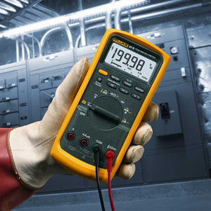 Fluke 87-5 87V Efficient Industrial Multimeter w/ Analog Bar Graph