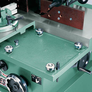 Grizzly G8622 220V 5 HP Sliding Table Shaper with Tilting Spindle