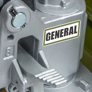 General International 51-030 X5 Series Cast Iron Pallet Jack w/ 5500 LB Capacity