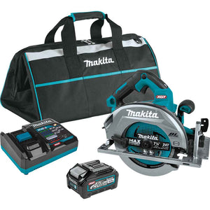 "Makita GSH01M1 40V MAX XGT 7-1/4"" Brushless Cordless Circular Saw Kit w/ 4.0Ah"