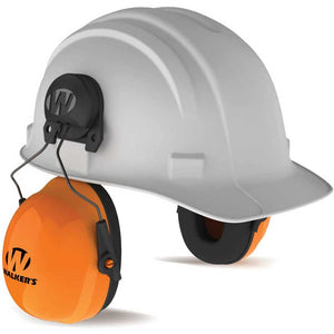 Walker's GWP-SF-PSMHH-MD Passive Safety Muff Hardhat Mount Clip - Medium