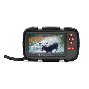 "Stealth Cam STC-CRV43X 4.3"" Touch Screen SD Memory Card Reader/Viewer"