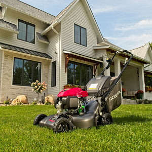 Honda HRN216VYA 21 in 170cc 3-in-1 Self Propelled Gas Lawn Mower w/ Blade-Stop