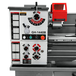 Jet 323440 14-Inch x 37-Inch 1-Phase Geared Head Bench Lathe w/ Vue Dro