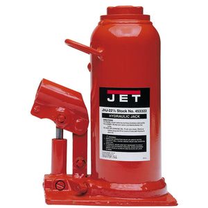 JET JHJ-22-1/2 22.5 Ton Hydraulic Bottle Jack - 453322