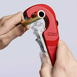 "Knipex 90 31 02 SBA 7"" TubiX Durable Lightweight Metal Pipe Cutter"
