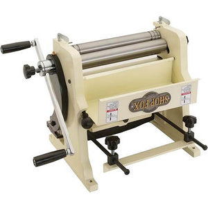 "Shop Fox M1052 12"" 3 In 1 Sheet Metal Machine 22 Gauge Maximum Capacity"
