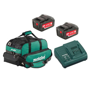 Metabo US625596252 18-Volt 5.2Ah LiHD Ultra-M Battery Pack and Charger Kit