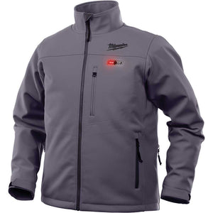 Milwaukee 202G-21M M12 12V Medium Li-Ion Heated Toughshell Gray Jacket Kit