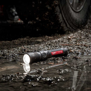 Milwaukee 2161-21 1100 Lumen USB Rechargeable LED Twist Focus Flashlight
