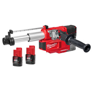 Milwaukee 2509-22 M12 12V HAMMERVAC Li-Ion Cordless Universal Dust Extractor Kit
