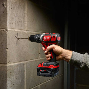 "Milwaukee 2607-80 M18 18V 1/2"" Hammer Drill/Driver - Bare Tool - Reconditioned"