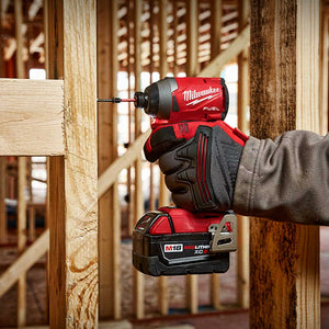 "Milwaukee 2853-80 M18 FUEL 18V 1/4"" Hex Impact Driver - Bare Tool -Reconditioned"
