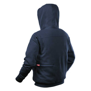 Milwaukee 302BL-21M M12 12V Medium Lithium-Ion Heated Navy Blue Hoodie Kit