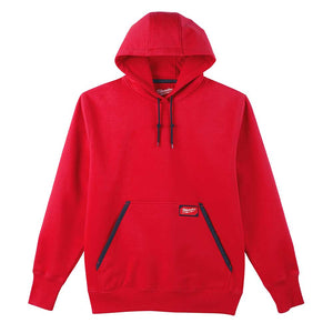 Milwaukee 350R-XL Heavy Duty Pullover Hoodie Red - XL