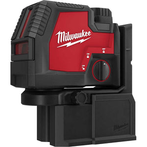 Milwaukee 3522-21 REDLITHIUM USB Rechargeable Green Cross w/ Plumb Points Laser