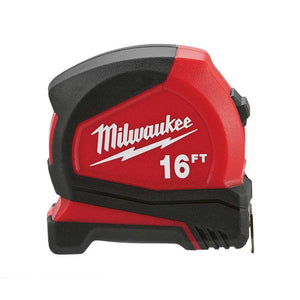 Milwaukee 48-22-6616 16-foot Compact Tape Measure