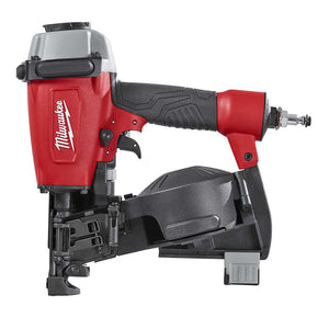 "Milwaukee 7220-80 1-3/4"" Pneumatic Adjustable Coil Roofing Nailer -Reconditioned"