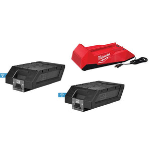 Milwaukee MXFC-2XC MX FUEL REDLITHIUM XC406 Battery/Charger Expansion Kit