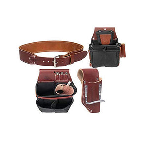 Occidental Leather 8087XXL 20-Pocket OxyLights Driver Set Tool Belt, 2X-Large