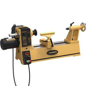 Powermatic 1792014 2014 115V/230V 1 HP Durable Cast Iron Bench Top Lathe