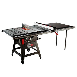 SawStop CNS175-TGP252 1.75Hp 52 Inch Contractor Table Saw w/ T-Glide Extension