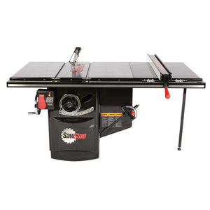 "SawStop ICS53230-36 230V 5HP 10"" Industrial Cabinet Saw w/ 36"" T-Glide System"