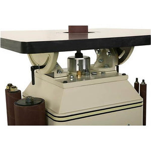 Shop Fox W1686 1 Hp Oscillating Spindle Sander Cabinet Style with Table Inserts