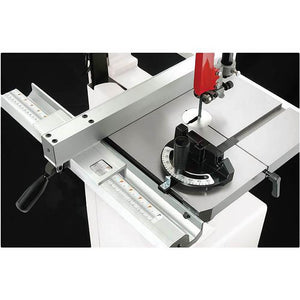 "Shop Fox W1706 1 Hp 14"" Bandsaw w/ Extruded Aluminum Fence/Rails & Cabinet Stand"
