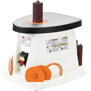Shop Fox W1831 Oscillating Spindle Sander w/ 5 Rubber Sanding Drums & 6 Sleeves
